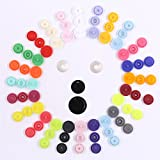 Hight Quality 384Pcs 24 Colors Plastic T5 Snap