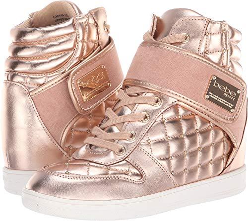 bebe Women's Cadyna Rose Gold 6 B US B (M) -