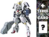 ASW-G-08 Gundam Barbatos 6th Form: Gundam Iron-Blooded Orphans 1/100 Model Kit + 1 FREE Official Japanese Gundam Trading Card Bundle (IBO #005)