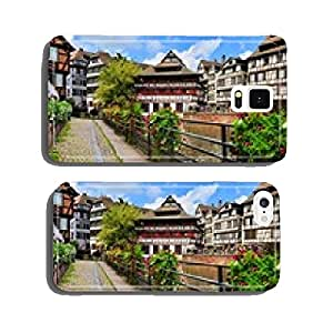 Quaint timbered houses of Petite France, Strasbourg, France cell phone cover case Samsung S6