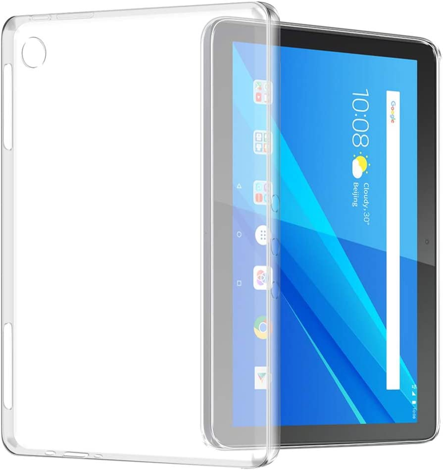 Lenovo Tab M10 Case, TopACE Ultra Thin Soft Gel TPU Case Cover Compatible for Lenovo Tab M10 (Matte Clear)