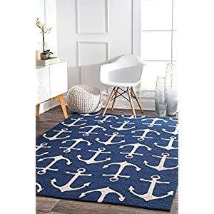 51s427WmNIL._SS300_ Best Nautical Rugs and Nautical Area Rugs