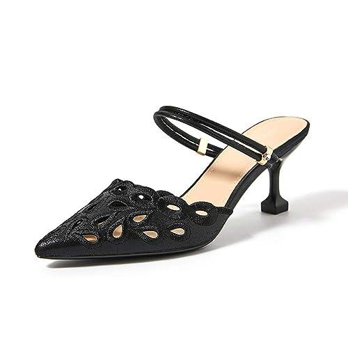 YXX-Zapatos para mujer Resbalón femenino de la primavera en los zapatos de las diapositivas de ...