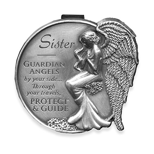Angelstar 15693 Visor Clip - Sister (Drive Safely Visor Clip)