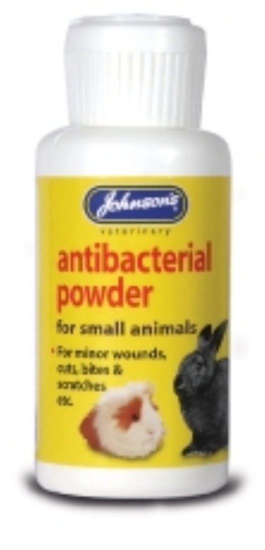 Johnson's Johnsons Anti-Bacterial Powder for Small Animals 20G 20G Bulk Deal of 6X