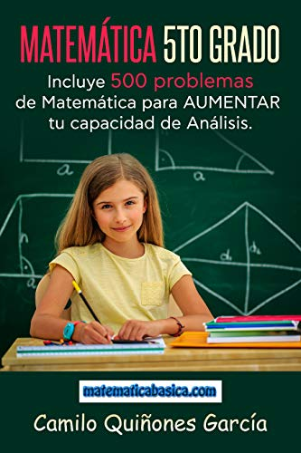 Matemática 5to Grado  Spanish Edition