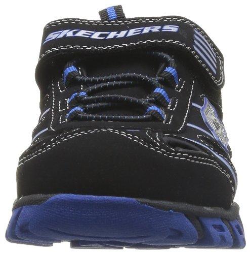 Skechers Pillar Sandal - Sandalias Deportivas de material sintético niño negro - Noir (Bkry)