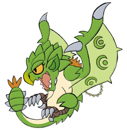 Monster Hunter Furifuri Mascot Rioreia Key Chain (japan ...