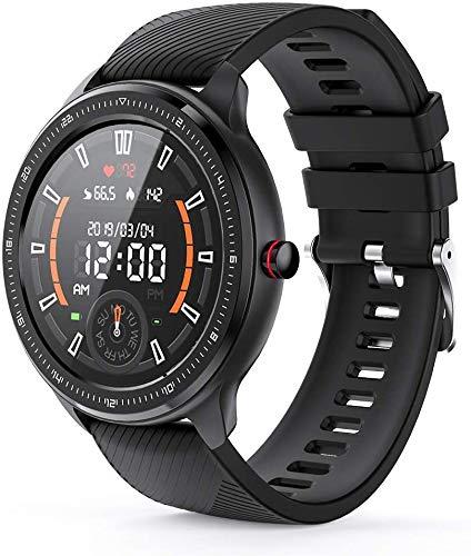 VoSinrly Smartwatch, volledig touchscreen, bloeddrukhorloge met hartslagmeter, sporthorloge, activiteitstracker…