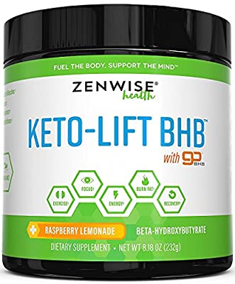 Keto BHB Salts Supplement with goBHB - Beta Hydroxybutyrate Exogenous Ketones to Achieve Perfect Ketosis - Energy Boost for Workouts & Focus + Weight Loss & Fat Burn - 8.18 OZ