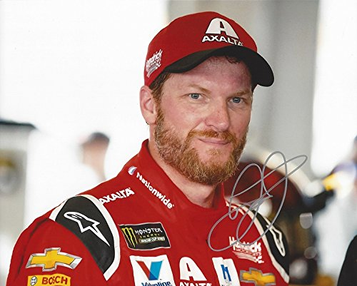 AUTOGRAPHED 2017 Dale Earnhardt Jr. #88 Axalta HOMESTEAD FINAL RACE (Garage Area) RETIREMENT LAST RIDE Monster Energy Cup Series Signed Collectible Picture NASCAR 8X10 Inch Glossy Photo with - Earnhardt Collectibles Dale