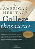The American Heritage College Thesaurus, , 0618402195