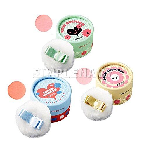 Blusher Face ([Total 3Pcs] The Face Shop Lovely ME:EX Pastel Cushion Blusher #1 #2 #3 Set)