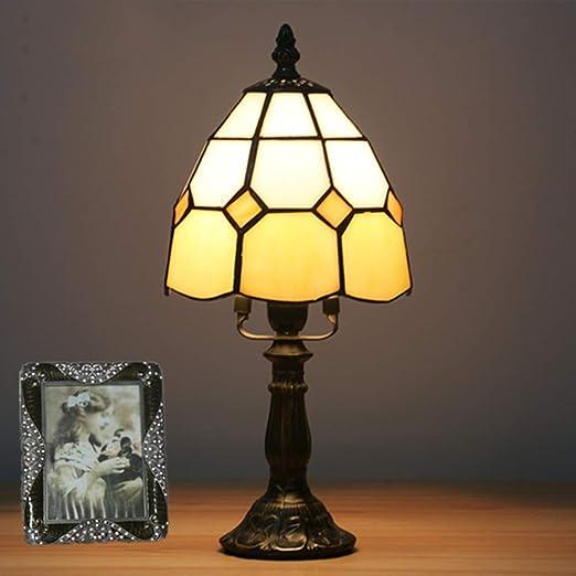 GYLNAI Lamparas Tiffany de Mesa, 6 Pulgadas de Tiffany lámpara de ...