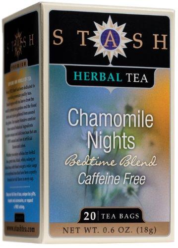 - Stash Premium Chamomile Nights Herbal Tea, 20 Tea Bags