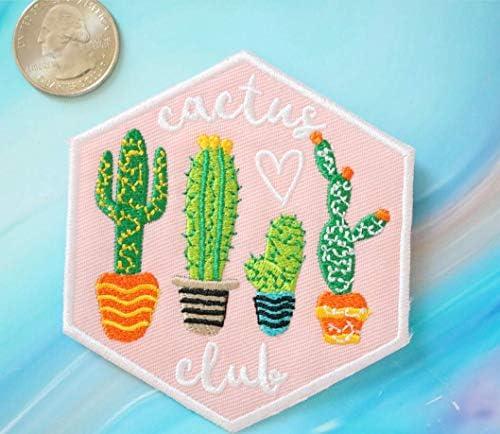 [해외]Pink Patch Cactus Patch Patch Iron On Patches Embroidery Patch Applique Cute Patches Girls Patches Sew On Cactus Patch / Pink Patch Cactus Patch Patch Iron On Patches Embroidery Patch Applique Cute Patches Girls Patches Sew On Cact...