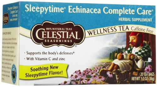 Celestial Seasonings Echinacea Complete Care Wellness Tea Bags - 20 ct - 6 pk