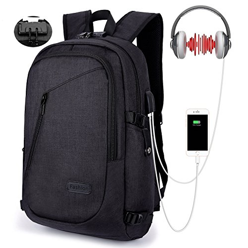 Travel Outdoor Computer Backpack Laptop bag 15.6''(blue) - 6