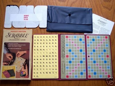 Scrabble Brand Crossword Game Pocket Edition