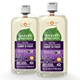 Seventh Generation Laundry Detergent, Ultra Concentrated EasyDose, Fresh Lavender, 23 oz, 2 Pack