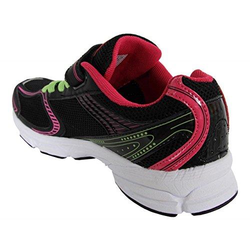 Zapatillas deporte de Niño y Niña y Mujer JOHN SMITH ROXI 15V NEGRO-VERDE