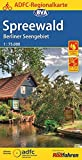 ADFC-Regionalkarte Spreewald /Berliner Seengebiet mit Tagestouren-Vorschlägen, 1:75.000, reiß- und wetterfest, GPS-Tracks Download (ADFC-Regionalkarte 1:75000)