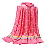 Wave Pattern Baby Air Conditioning Blanket Coral Carpet Infant Blanket Towel