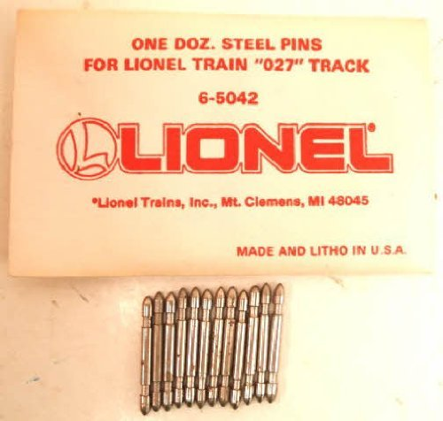 Free Lionel O-27 Scale Steel Track Pins