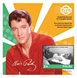 Palau- Elvis - His Life in Stamps Donating blood to the Red Cross Collector's Souvenir Sheet Stamp