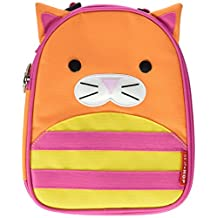 Skip Hop Zoo Lunchie Little Kids & Toddler Insulated Lunch Bag, Chase Cat