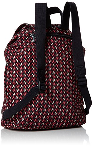 Fundamental Chevron Kipling Multicolour Kipling Women's Pink Fundamental Backpack Backpack Women's BnPqXpxwO