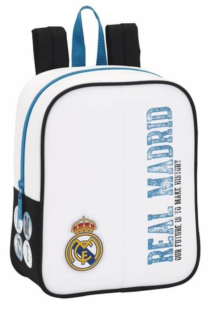 Safta Sf-611754-232 - Real Madrid Mochila escolar, Guardería Adaptable, 27 cm, Multicolor: Amazon.es: Equipaje