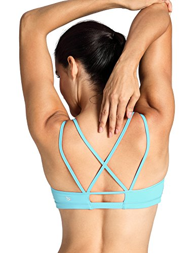 d6b64d4eccfd8 CRZ YOGA Women s Removable Pads Cool-look Criss Cross Strappy Yoga Sports  Bra - Buy Online in UAE.
