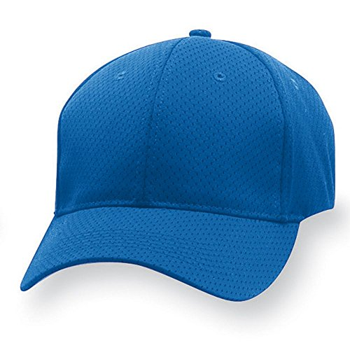 Augusta Sportswear ADULT SPORT FLEX ATHLETIC MESH CAP S/M Royal