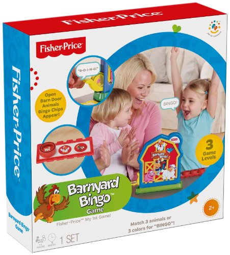 fisher price barnyard bingo - 1