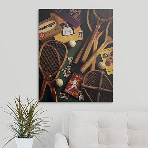 Amazon.com: GREATBIGCANVAS Gallery-Wrapped Canvas Entitled Tennis by Michael Harrison 29