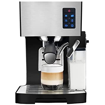LJZQ Máquina automática de café Bean To Cup 1350 vatios 1.4 litros de volumen del tanque