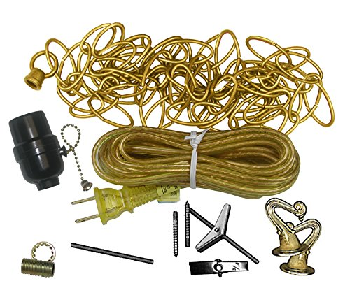 Swag Light Kit 12' Foot Brass _F/LA702 (Et La702 Lamp)