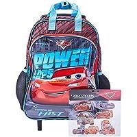 Mala Escolar G com Rodinhas Disney Carros, 41 x 30 x 14, Dermiwil 51825, Multicor