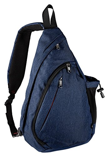 OutdoorMaster Sling Bag - Small Crossbody Backpack for Men and Women