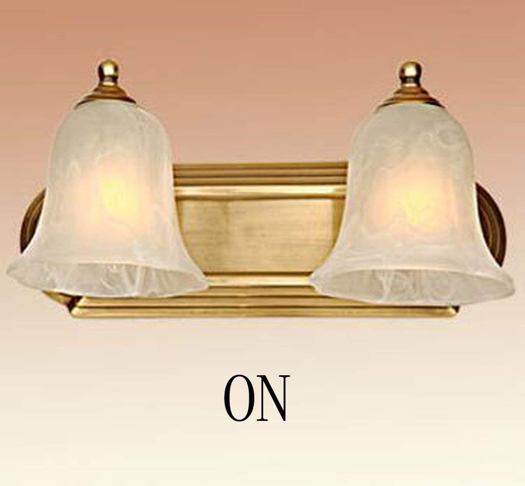 WHKHY Exquisite Wall in Copper Night Table Lamp Wall Lamp Bedroom Artwork Communities of The Corridor Lamp Copper a Head of Nails Wall Lamp