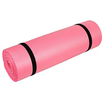 Amazon.com: Boon Earthie Pink Thick 10mm Floor Exercise nbr ...