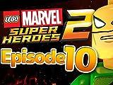 lego marvel superheroes iron fist - Clip: Iron Fist vs Steel Serpent!