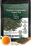 Organic Gunpowder Green Tea Loose Leaf by The Tea Company 4oz For Sale