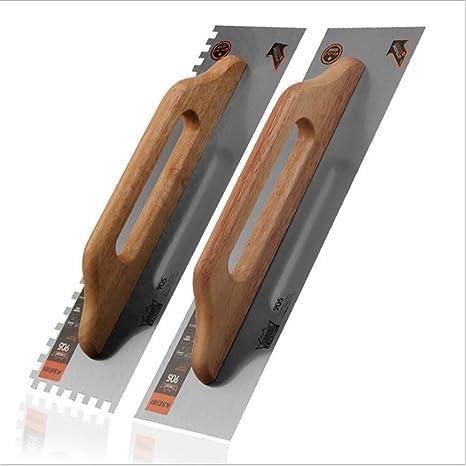 Amazon.com: 2 piezas de Trowel, mango de madera de acabado ...