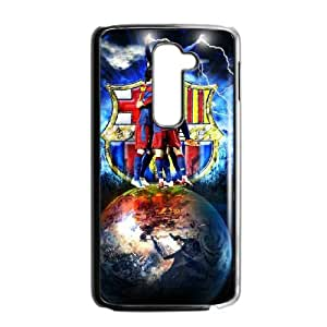 Special Lovely Nostalgic Barcelona LG G2 Cell Phone Case Black Benefit Cool LHWANGN018168