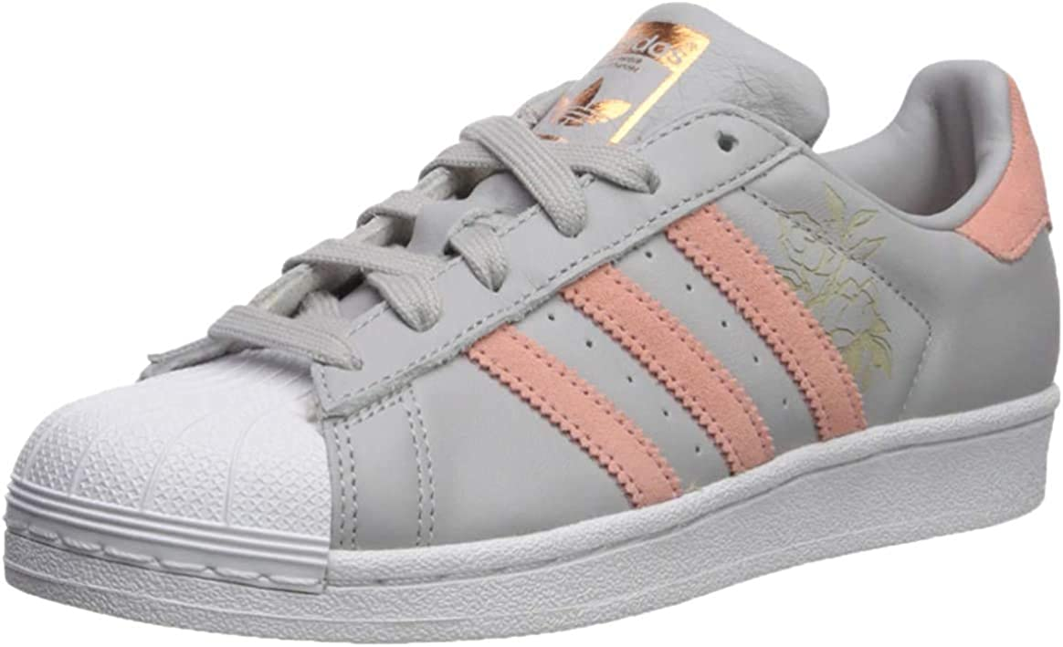 adidas B27141, Chaussures de Basketball Homme Gray Trace Rose Blanc
