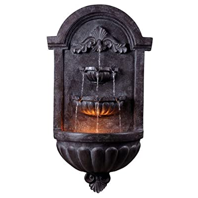 "Kenroy Home 50024 San Marco 35"" Height Outdoor Fountain,"
