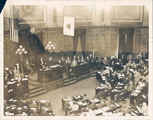 1936 Photo James G Moran President Senate Political Legislature Political 7x9