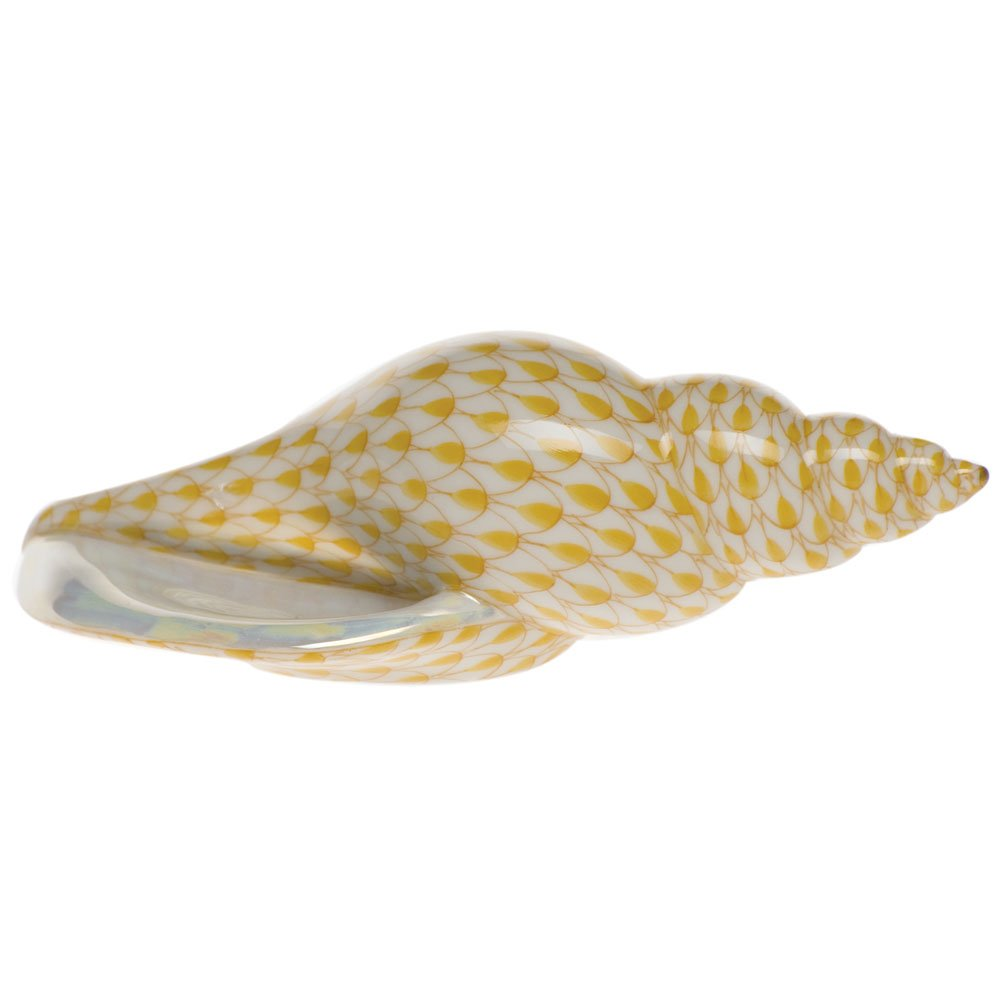 Herend Sea Snail Butterscotch Fishnet by Herend